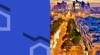 Paris la défense et le bleu Combaux